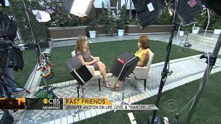 "CBS This Morning - Jennifer Aniston on life, love and ""Wanderlust"""