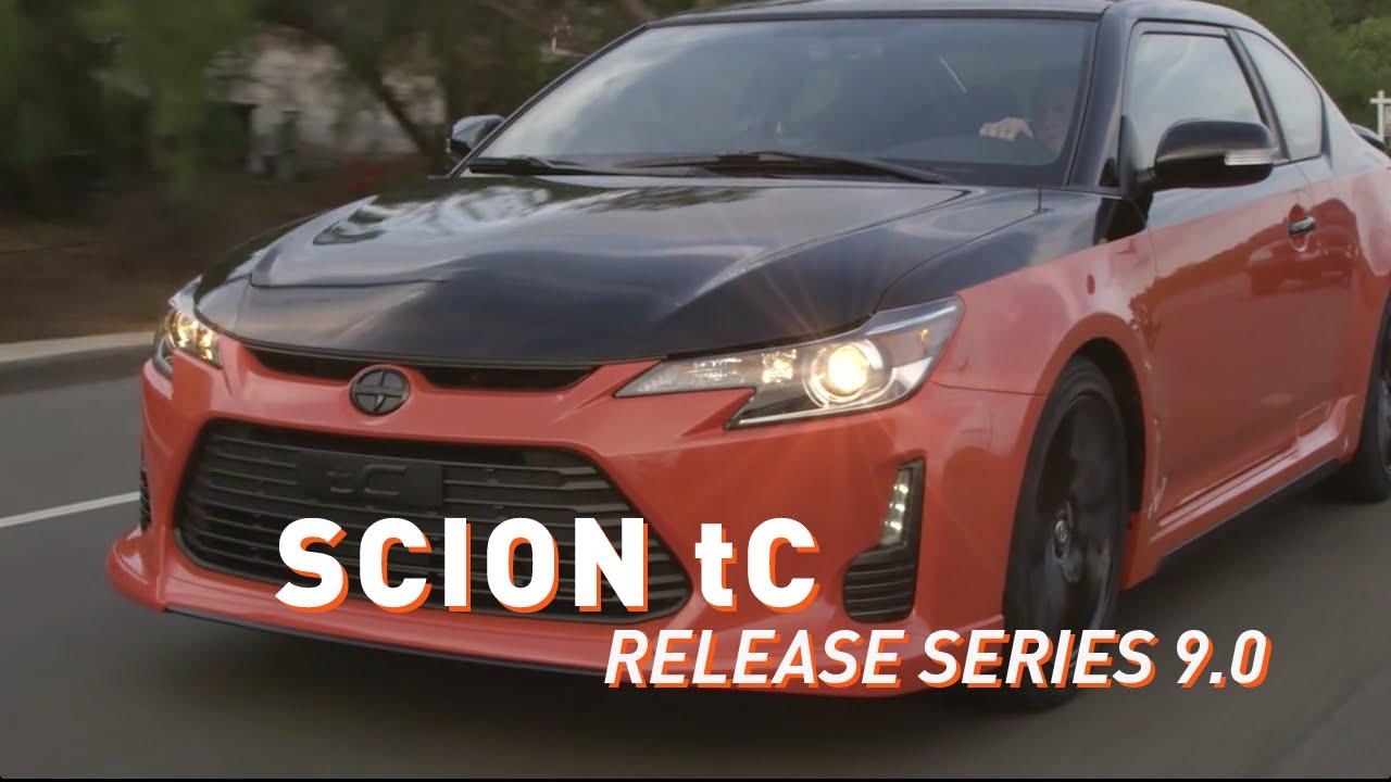 Scion tC Release Series 9.0 Walkaround - YouTube