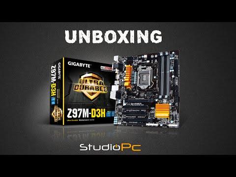 StudioPC # Unboxing Gigabyte Z97M-D3H