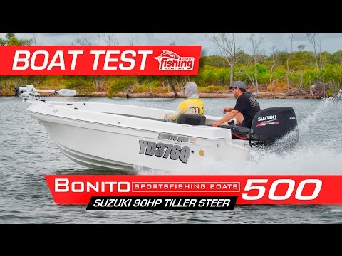 Tested Bonito 500 With Suzuki 90hp Tiller