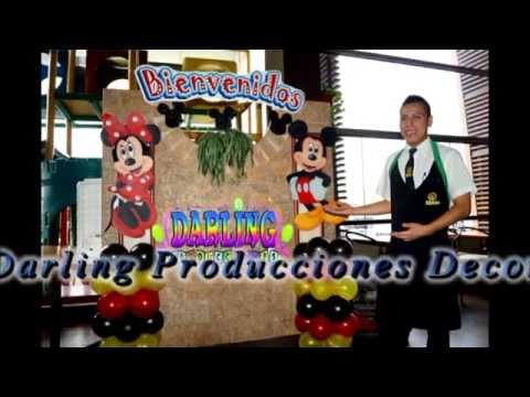 DECORACIÓN DE LA CASA DE MICKEY MOUSE / DARLING PRODUCCIONES