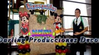 DECORACIÓN DE LA CASA DE MICKEY MOUSE / DARLING PRODUCCIONES