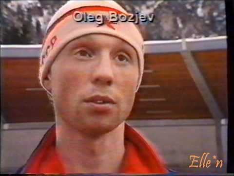 World Championships Heerenveen 1987 - interviews skaters Russia, USA, Austria, Norway