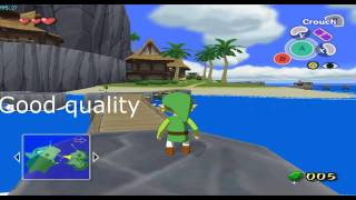 The Wind Waker quality comparison on the Dolphin Emulator 3.0 x64