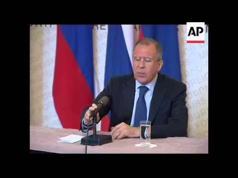 4:3 Russian FM says Syria must take first step and pull troops off streets