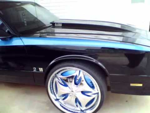 1986 Montecarlo SS on DUB Floaters