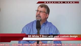 $5 Custom T Shirts from Damin Printing!