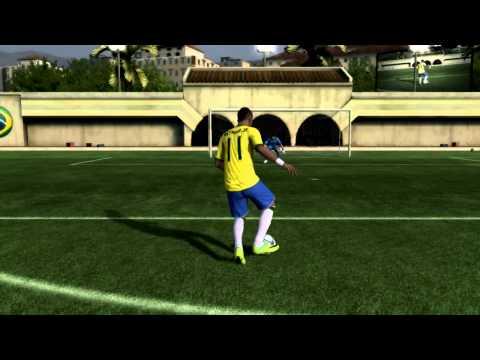 Fifa12 Neymar Freestyle video