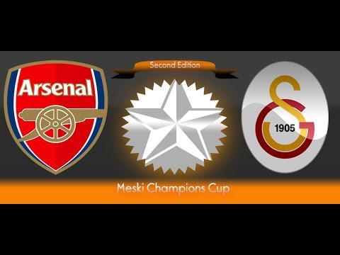 PES6 2nd Meski Champions Cup - Arsenal vs Galatasaray : Group B