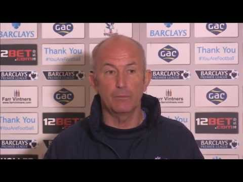 Tony Pulis' Pre-Manchester City Press Conference