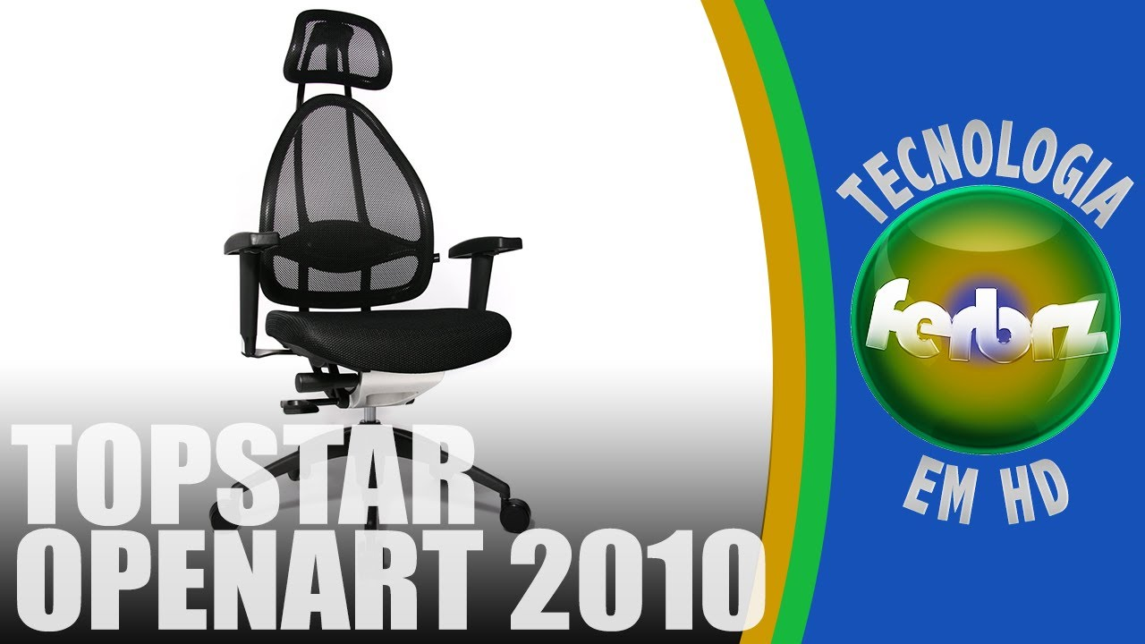 review and assembly of the topstar open art 2010 office. Black Bedroom Furniture Sets. Home Design Ideas