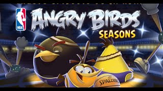 NBA Ham Dunk in Angry Birds Seasons! - Gameplay Trailer First Look