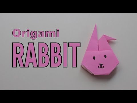 Origami - How to make a RABBIT