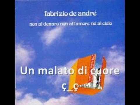 Fabrizio De Andre - Un Malato Di Cuore