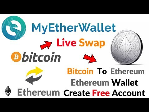 MyEtherWallet Live Swap Bitcoin To Ethereum MyEtherWallet Best Ethereum Wallet Full Hindi/Urdu