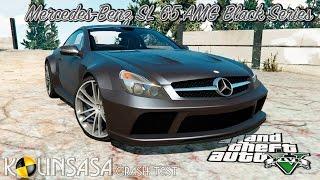 GTA 5 Crash test - Mercedes-Benz SL 65 AMG Black Series