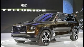 KIA Telluride made its debut at the 2019 Detriot Auto Show