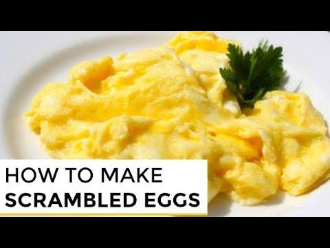 How-To Make Really Good Scrambled Eggs - YouTube