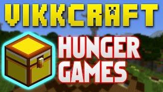 """Minecraft Hunger Games #338 """"ONE CHEST CHALLENGE!"""" with Vikkstar"""