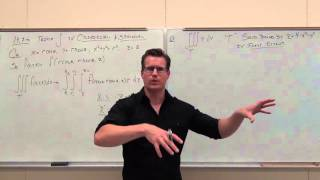 Calculus 3 Lecture 14.7: TRIPLE Integrals Over Regions with CYLINDRICAL or SPHERICAL Coord.