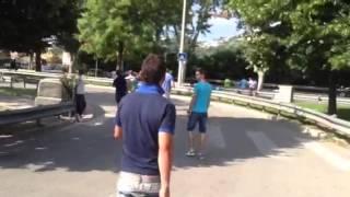 A Nice, les gens du voyage bloquent la plaine du Var
