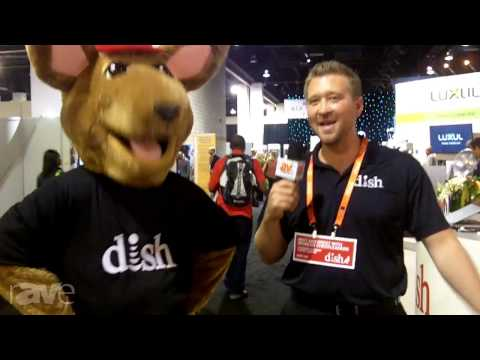 CEDIA 2013: Random Dish Network Guy Talks to the Hopper Mascot (Who Doesn't Talk Back)