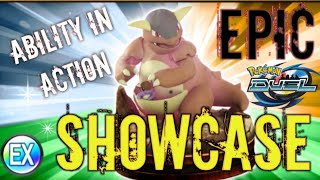 Kangaskhan Showcase and thoughts on team event and boosters Pokemon Duel