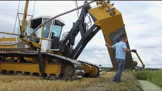 Tractors Pulling Plowing Power: Field Drainage