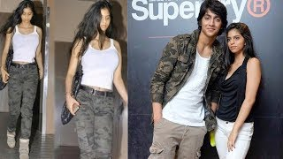 SRK's Daughter Suhana Khan CAUGHT with Chunky Panday's Nephew Ahaan Pandey