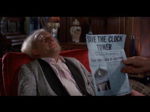 Back to the Future Tribute -- Back In Time Music Video HD HQ