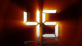 60 sec COUNTDOWN (v 106) TIMER with voice and sound effects! HD