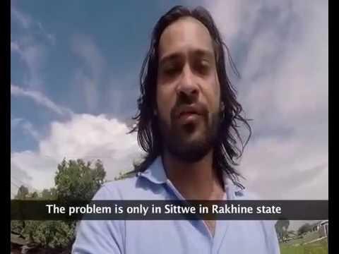 Waqar Zaka The Only Pakistani Who Actually Helped Burma Muslims