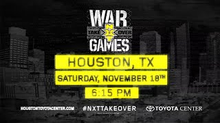 NXT TakeOver: WarGames tickets available now at NXTtickets.com