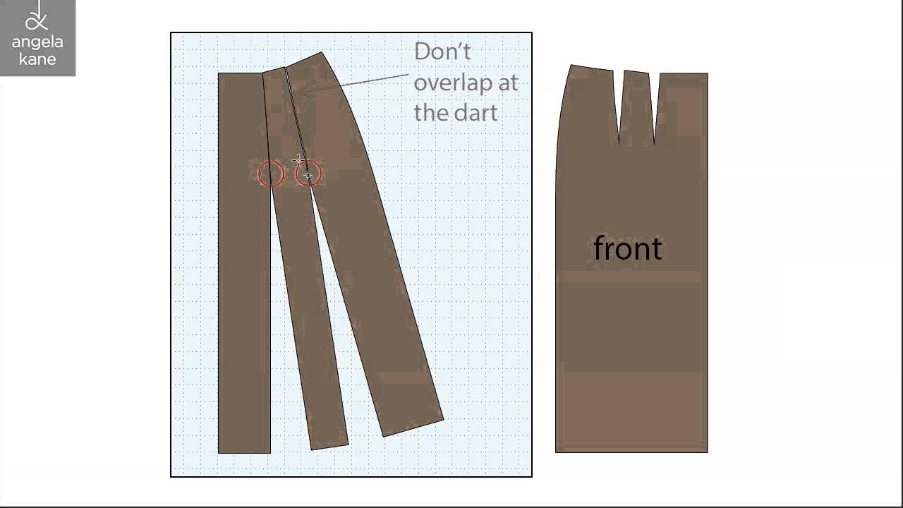 how to make a sewing pattern drafting an a line skirt