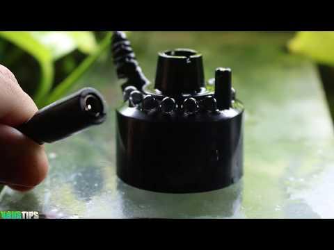 Download  Nebulizador, Humidificador Ultrasónico, Fabricador de Niebla para El Árbol de la Vida || AquaTips Gratis, download lagu terbaru