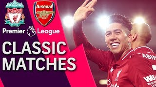 Liverpool v. Arsenal | PREMIER LEAGUE CLASSIC MATCH | 12/29/18 | NBC Sports