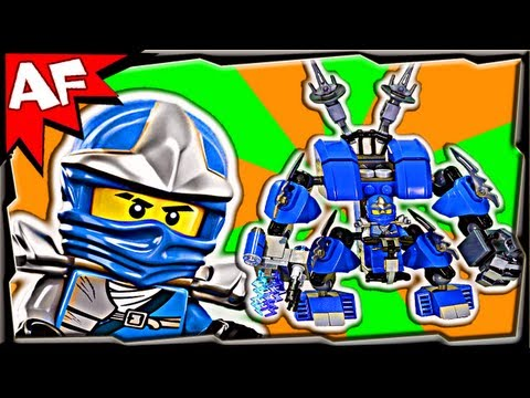 JAY's LIGHTNING MECH - Custom Lego Ninjago Animated Review
