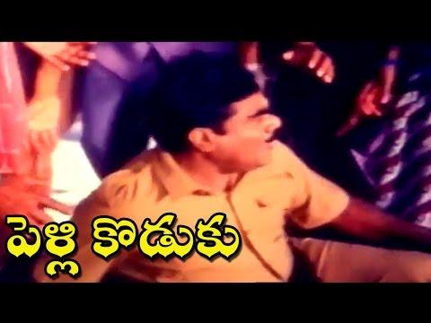 Pelli Koduku Movie    Babu Mohan Fighting Comedy Scene     Naresh, Divyavani.