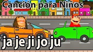 Canción ja je ji jo ju - El Mono Sílabo - Videos Infantiles - Educación para Niños #