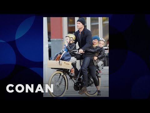 Naomi Watts: My Whole Family Gets Around By Bicycle  - CONAN on TBS