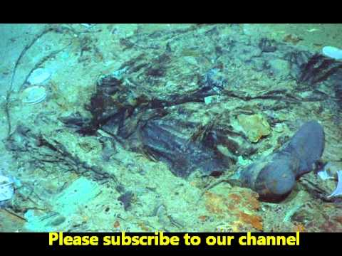 (1912-2015 TITANIC) Human remains at Titanic shipwreck ...