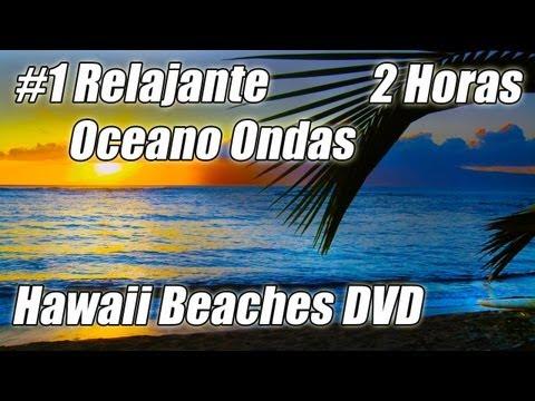 2 Horas de Relajacion Muy #1 Hermoso Oceano Olas DVD Playas de Hawai 1 Sonidos de la Naturaleza
