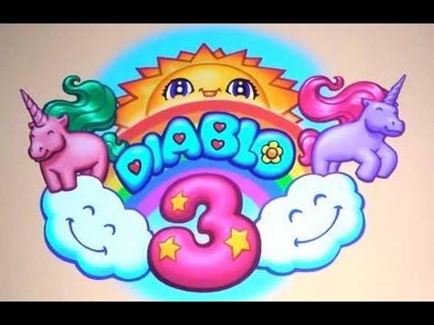 Diablo 3 - Secret Cow (Pony?) Level: Whimsyshire