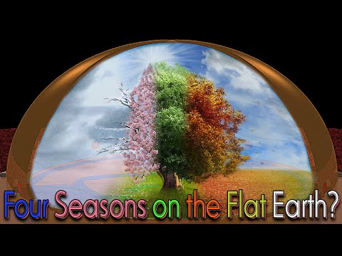 How the 4 seasons work on the Flat Earth model