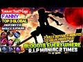 Blood Is Everywhere, R.I.P Maniac 2 Times [ Top 3 Global Fanny ] Louvre AntiMage Fanny