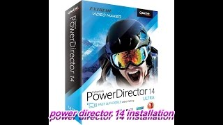 power director 14 installation with crack bangla tutorial 1 by MD. MIJANUR RAHAMAN