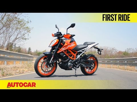 2017 KTM Duke 390 | First Ride | Autocar India