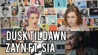 download lagu Zayn Ft Sia  -dusk Til Dawn - Reaction gratis
