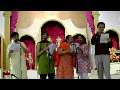 Latha, Krithika, Chiraag & Neha Singing gallu Gallenutha video