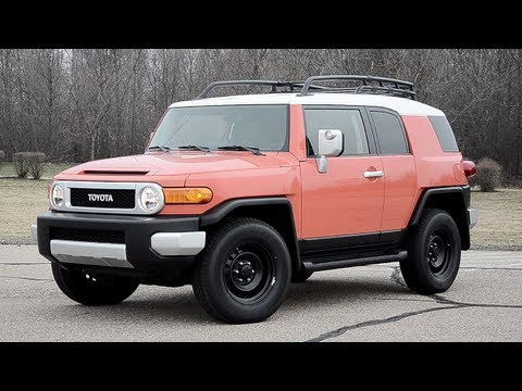 2013 Toyota FJ Cruiser - WINDING ROAD POV Test Drive